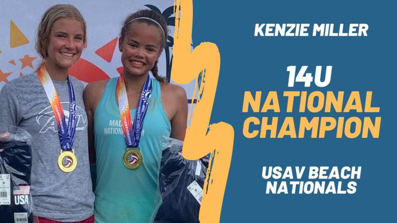 kenzie miller national champion
